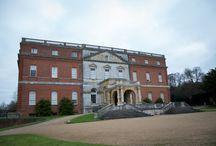Clandon Park Wedding / Christmas Wedding at Clandon Park, Surrey