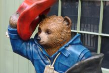 The Paddington Trail / We have been out on the Paddington Trail in London to see how many of the 50 Paddington statutes we can find.