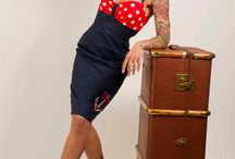 rockabilly sailor dresses