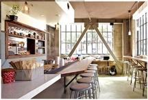Coffee bar ideas / Coffee bar and cafe ideas