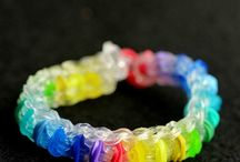 rainbow loom ideas / by Jennifer Daly