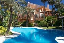 Stunning Exteriors / Pictures of villas and apartments in Marbella with beautiful exteriors