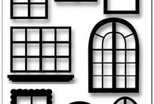 Glitter House doors & windows