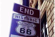Route 66 Desde Chicago a Los Angeles / Ligeras de equipage, repletas de ilusión, nos embarcamos en esta aventura.