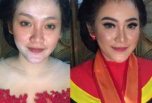 Rias Rambut & Makeup Pernikahan di Semarang / Kumpulan foto inspirasi vendor rias rambut & makeup pernikahan di Semarang