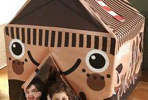Chocolate Milk Tent Spoonflower Design