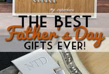 Father's Day Ideas and Gifts / Father's Day gifts and ideas. Arts, crafts, and manly man gift ideas for Dad.