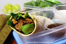 The Lunch Box Challenge  / #Lunch Box Ideas for Kids / by Melanie Burbage