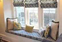 Jaukių nišinių langų uždengimai / Įsirenkite savo namuose jaukų kampelį, išnaudodami nišinių langų privalumus.