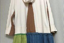 sewing - sweatshirt upcycle