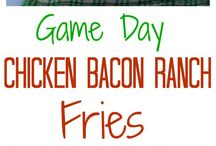 ** Game Day ** / Favorite Game Day Recipes. This is a Group board. Please feel free to pin your favorite game day pins.