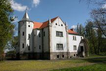 Kotowiecko - Pałac /  Pałac w Kotowiecku zbudowany w 1842 roku dla Józefa Morawskiego, rozbudowywany po roku 1903 przez rodzinę von Lekow. Obecnie w pałacu mieści się przedszkole.