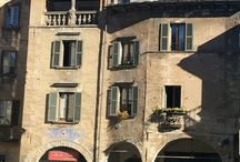 Visiting Domodossola, Italy / Domodossola, Italy is a small village, big on charm, and situated between the Swiss Alps and Milan. A great stopover.#Travel #Domodossola #ContentedTraveller #Italy