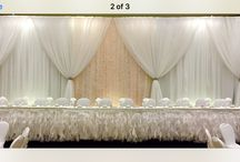 Reception backdrops