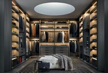 2015 Wardrobes collection / Poliform interprets contemporary private spaces: night-time interiors where wardrobes and walk-in closets become elements that define the architecture of the interior. A new concept of storage systems, offering the utmost compositional versatility and an exceptional variety of solutions for  furnishing interiors.