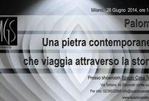 MILANO 26/06/2014 SHOWROOM SPAZIO CASA TEATRO / MILANO, 26 GIUGNO 2014 ORE 18 PRESSO SHOWROOM SPAZIO CASA TEATRO:  PALOMA, UNA PIETRA CONTEMPORANEA CHE VIAGGIA ATTRAVERSO LA STORIA