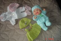 "8"" baby doll clothes / doll clothes"