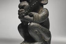 Pre-Sapi Stone Figures (Sierra Leone)
