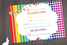 birthday invites / by Ted Klapperich
