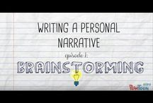 Writing personal narrative