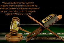 Kur'an Bize Ne Diyor? / Ayetlerle uyarılar öğütler