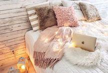 Winter moodboard/ white
