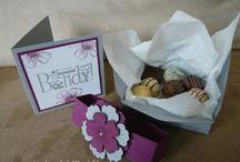 Geschenkverpackung Stampin up / www.meinekreativwerkstatt.bastelblogs.de