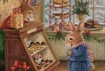 Animal paintings / Cute animal paintings