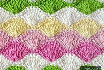 mønster til tæppe