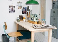 Workspaces / I'm revamping my art space from scratch! Trying to get ideas that are functional! / by Kathy Cano-Murillo, The Crafty Chica
