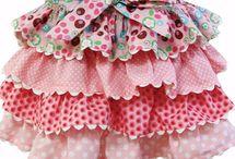 sukynky, šaty