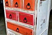 komody, skrine