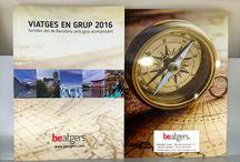 Catálogo de viajes en grupo 2016 / Los catálogos de viajes en grupo 2016 de Beatgers. Salidas desde Barcelona con guía acompañante.