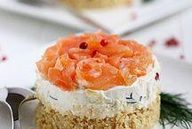 Celeste cake. Salate