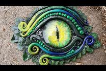 výroba očí