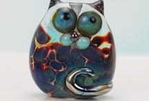 Lampwork cats