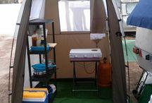 equipo de camping