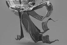 LoL concept art / Concept art for League of Legends