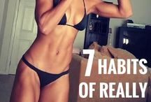 Habits of fit women