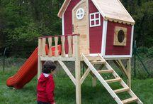 bahçe oyun evi