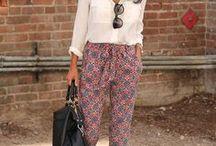 Fashion ideas - printed pants