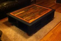 Living room diy / Living room pallet table