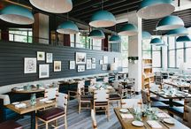 Restaurant Design / Inspiring and creative interior and exterior restaurant design.