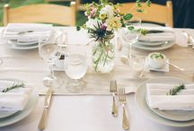 Linens / Napkins, Tablecloths, Draping..and much more  / by Bluebird Productions