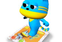 Cute characters /  Amagicland is a brand of edutainment products created by Online Media Limited, employs AR technology for design innovation. It combines learn, play and social elements that allows kid learners to benefit from the interactivity activities, provide them a unique discovery experience.
