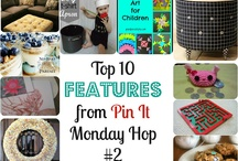 Pin it Monday Hop Features