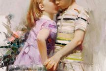 Art - Pino Daeni / Pino Daeni 1939-2010 | Italian Impressionist painter