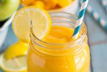 * naked juice-smootie recipes / by Yonit