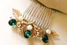 Emerald&Gold Wedding Theme