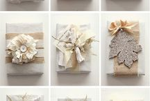 Gift wrap ideas / by Karen Troyer